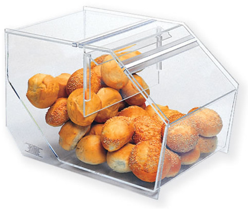 Goldleaf Plastics Small False Back Food Bin