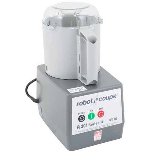 Robot Coupe R301B Food Processor with 3.5 Qt. Gray Bowl - 1.5 hp