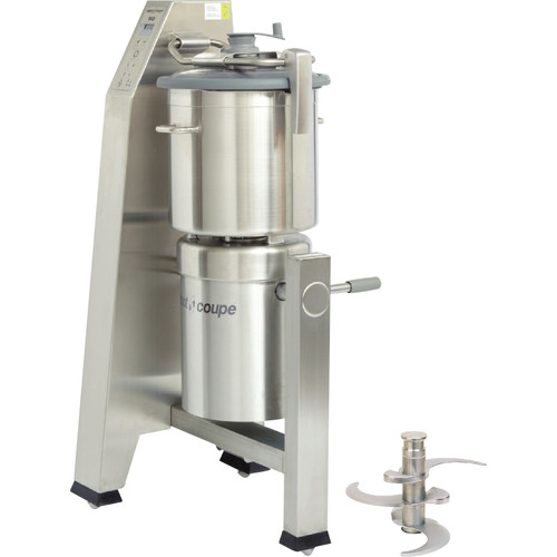 Robot Coupe R30T Vertical Food Processor with 31 Qt. Stainless Steel Bowl - 7 hp