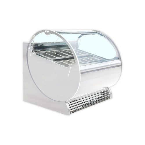 "Kool-It KGC-62 61.4"" Ice Cream Gelato Display Freezer (KGC-62)"