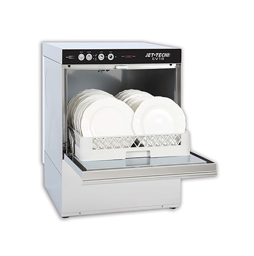 Jet-Tech EV18 Undercounter Dishwasher, 208-240V (EV18)