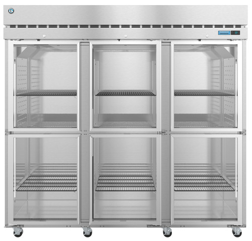 "Hoshizaki R3A-HG 82.5"" Three Section Half Door Refrigerator (R3A-HG)"