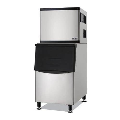 Spartan SMIM-500 Half Cube Ice Machine with 275 Lbs Built-in Bin, 500 Lbs/Day (SMIM-500)