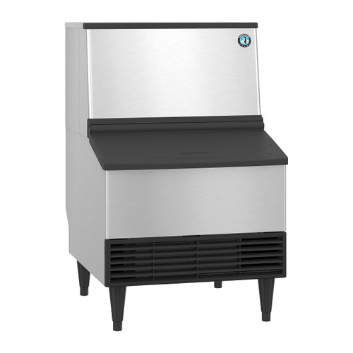 Hoshizaki KM-231BAJ Air-Cooled Crescent Cuber Icemaker with Built-In Storage Bin, 213 Lbs / 24 Hour (KM-231BAJ)