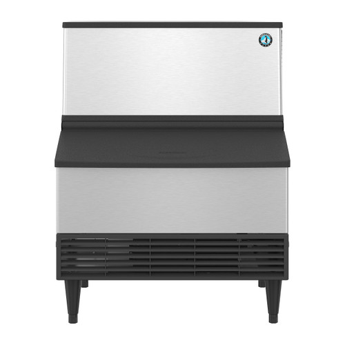 Hoshizaki KM-301BAJ Air-Cooled Crescent Cuber Icemaker with Built-In Storage Bin, 290 Lbs / 24 Hour (KM-301BAJ)