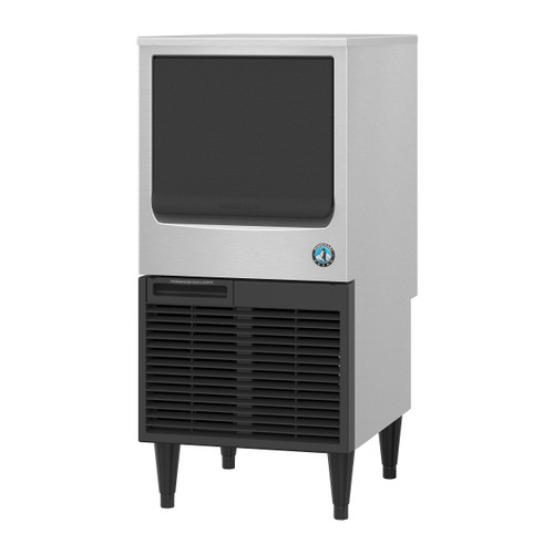 Hoshizaki KM-81BAJ Air-Cooled Crescent Cuber Icemaker with Built-In Storage Bin, 78 Lbs / 24 Hour (KM-81BAJ)