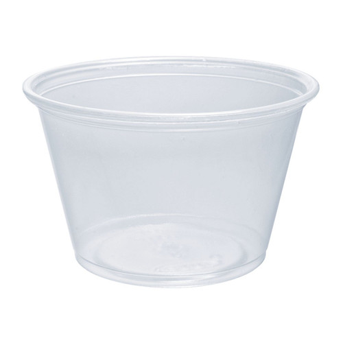 Dart 400PC 4 oz. Clear Portion Container
