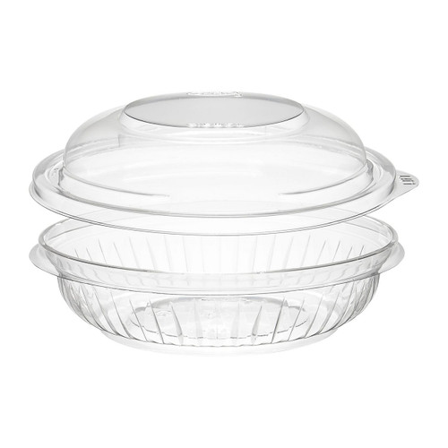 Dart C8BCD 8 oz. Clear Plastic Bowl with Dome Lid - 252/Case
