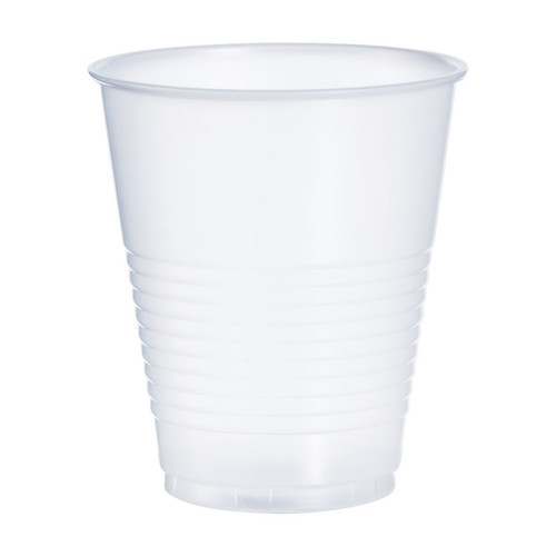 Dart Y12S Translucent 12 oz. Plastic Squat Cup - 1000/Case