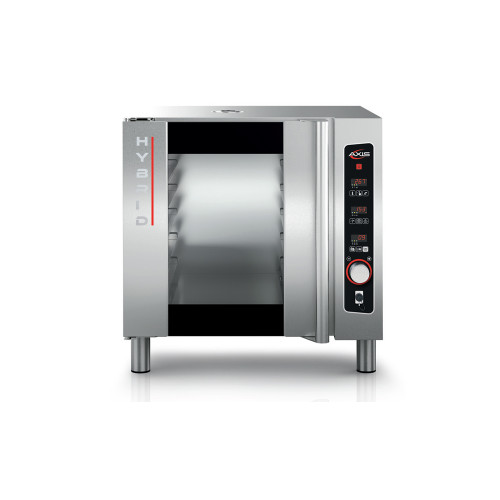 Axis HYBRID Electric Full Size Combi Oven - 5 Shelves - 208/240V