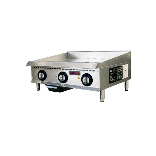 "IKON Series ITG-36E Electric Thermostatic griddle - 36"", 208/240V"