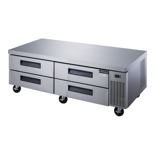 Dukers DCB72-D4 Chef Base Refrigerator with 4 Drawers