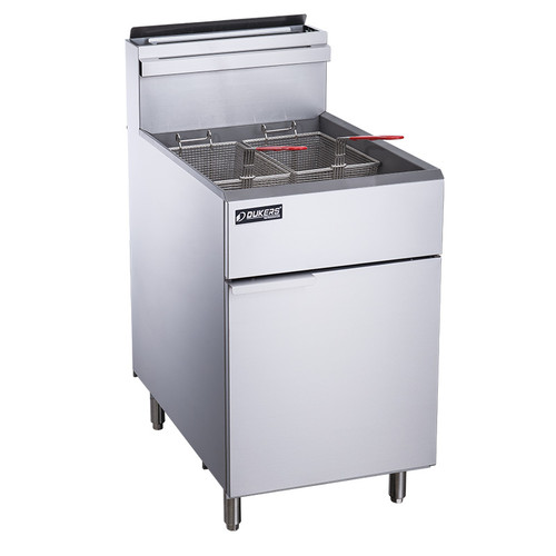 Dukers DCF5-NG Natural Gas Fryer with 5 Tube Burners