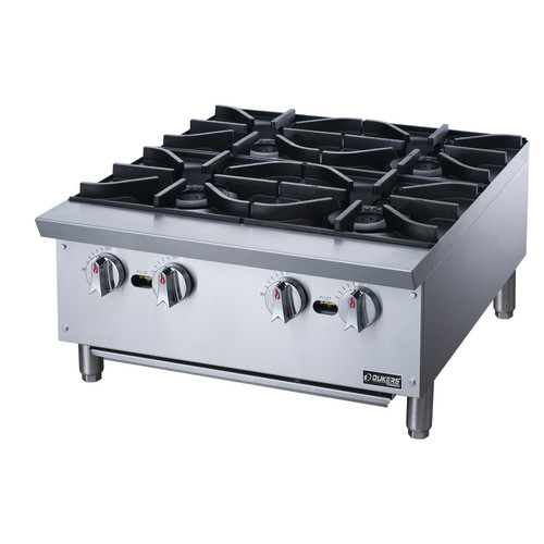 Dukers DCHPA24 Hot Plate with 4 Burners
