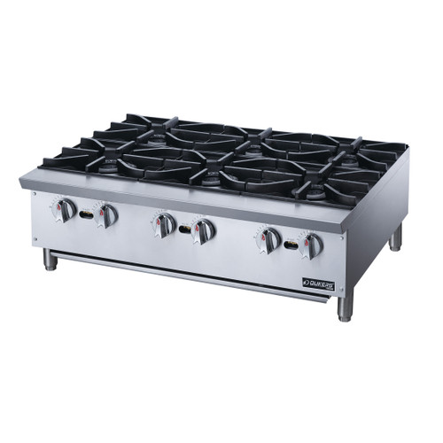 Dukers DCHPA36 Hot Plate with 6 Burners