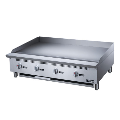 Dukers DCGMA48 48 in. W Griddle with 4 Burners