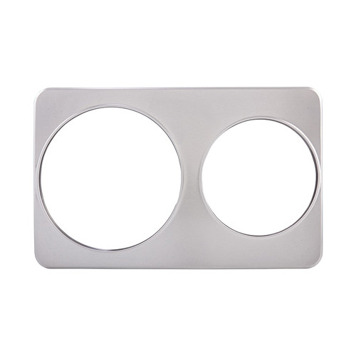 """Winco ADP-810 Two Hole Steam Table Adaptor Plate, 8-3/8"""" and 10-3/8"""""""