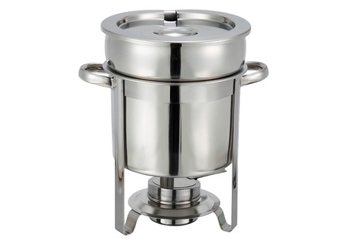 Winco 207 Soup Warmer, 7 qt., Stainless Steel