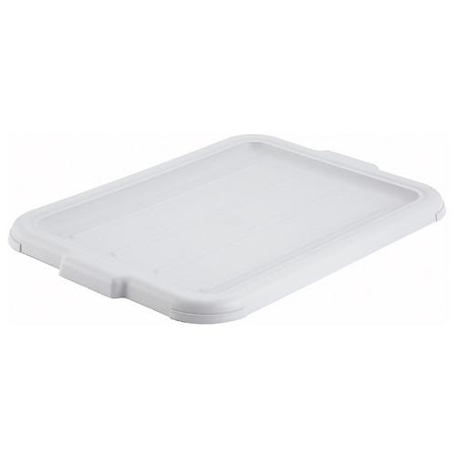Winco PL-57W White Dish Box Cover