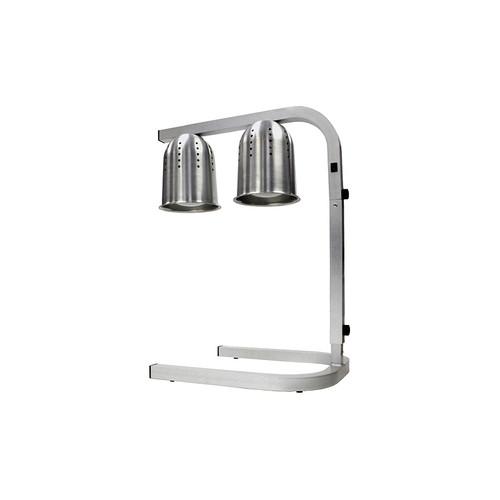 Winco EHL-2 Heat Lamp / Food Warmer 2 Bulb Free Standing
