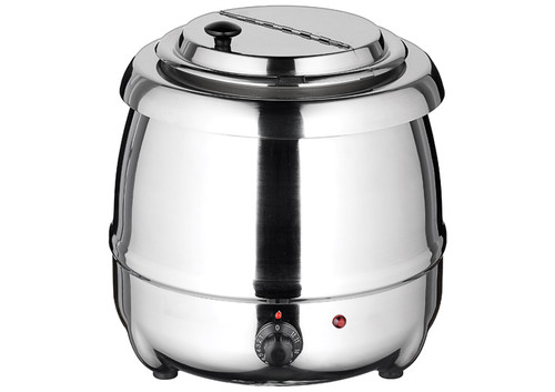 Winco ESW-70 Electric Soup Warmer, 10 quart, Stainless Steel