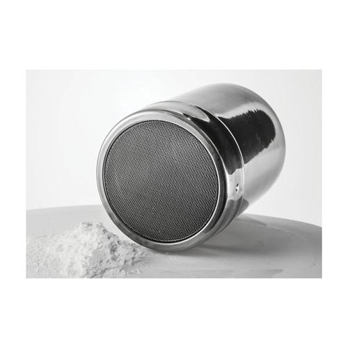 Winco SSD-10 10 oz. Stainless Steel Powdered Sugar Dispenser