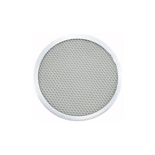 "Winco APZS-11 11"" Aluminum Seamless Pizza Screen"