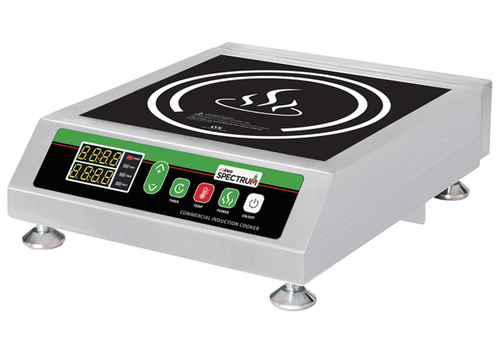 Winco EICS-18 Commercial Induction Cooker, Electric, 120v, Ceramic Glass