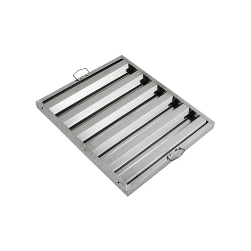 """Winco HFS-2520 25""""W x 20""""H Stainless Steel Hood Filter"""