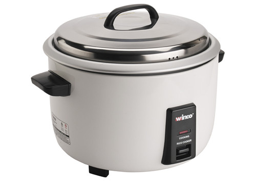 Winco RC-P300 Rice Cooker, Electric, 30 Cup Uncooked Rice Capacity