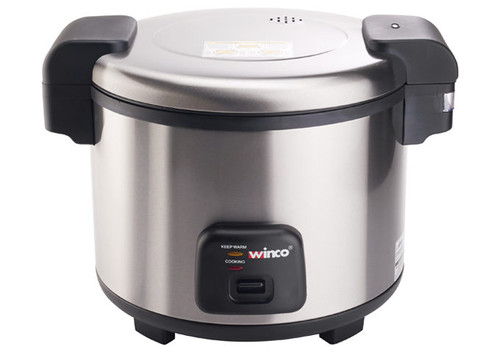 Winco RC-S300 Rice Cooker & Warmer, Electric, 30 Cup Uncooked Rice Capacity