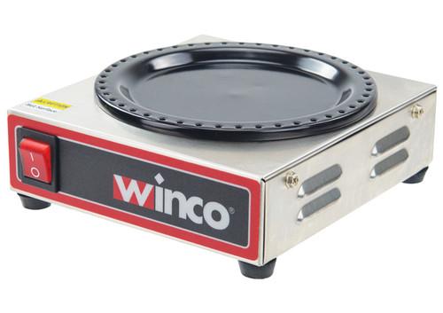 Winco ECW-1 Coffee Warmer, Single Burner, for Countertop, 120v