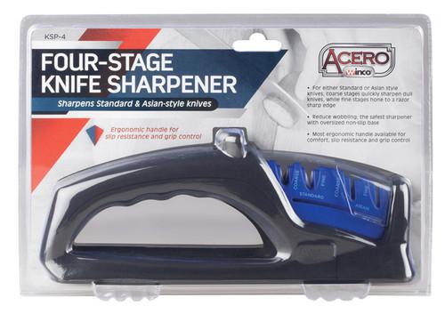 Winco KSP-4 Four Stage Knife Sharpener