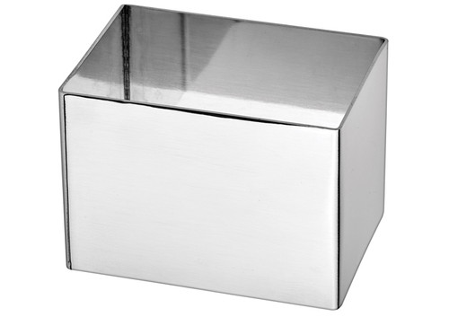 """Winco SPM-211T Pastry Mold,  2-1/2""""W x 1-3/4""""D x 1-3/4""""H, Rectangle,"""