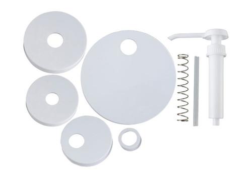 "Winco PKT-6 Pump Kit, Includes (1) 9"" Standard Pump & (5) Lids"