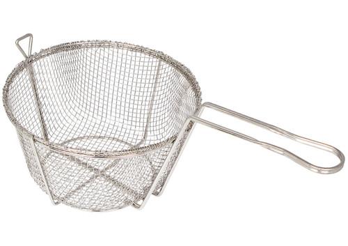 """Winco FBR-8 Fry Basket, 8-1/2"""", Coarse, Round"""