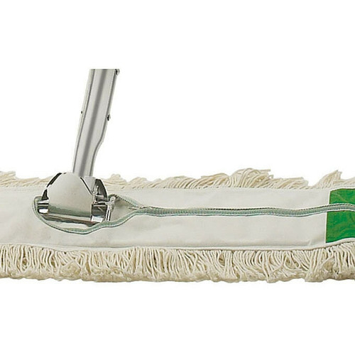 "Winco DM-36H Replacement Dust Mop Head, 36"" x 5"", Zipper Closure"