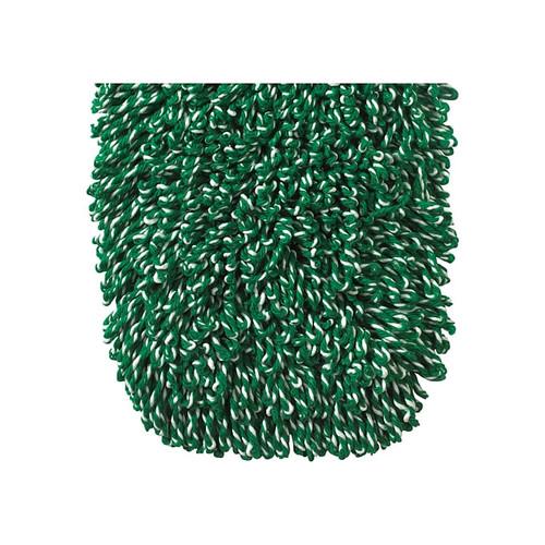"""Winco DMM-24H Dust Mop Head Refill, 24"""" x 5"""", Green Cotton Blend"""