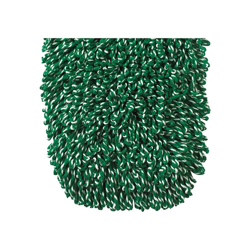 "Winco DMM-36H Dust Mop Head Refill, 36"" x 5"", Green Cotton Blend"