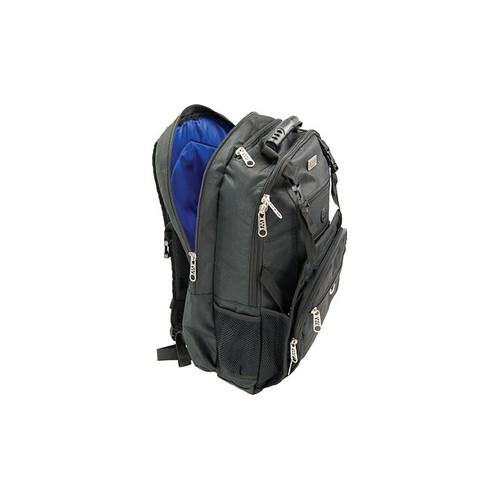 Winco KBP-1 Acero Knife Backpack, Wide Ergonomic Straps, Black