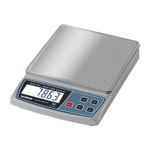 Winco SCAL-D22 Digital Portion Control Scale, 22 lb. capacity