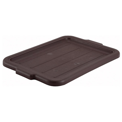 Winco PL-57B Brown Dish Box Cover