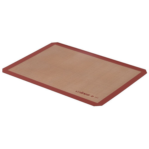 """Winco SBS-21 Silicone Baking Mat, 2/3 Size, 11-7/16"""" x 20-1/2"""""""
