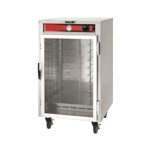 Vulcan VHFA9-1M3ZN 1,200 Watt Electric 1 Glass Door Heated Holding Cabinet, 9 Pan Capacity, Fixed Rack (VHFA9-1M3ZN)