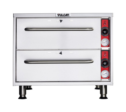 Vulcan VW2S-1M0ZX 950 Watt Electric Food Warmer, 2 Drawer, Free Standing (VW2S-1M0ZX)