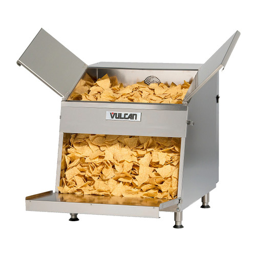 Vulcan VCW26 1,500 Watt Electric Chip Warmer, 26 Gallon, Top Load, Free Standing (VCW26-1M0ZN)