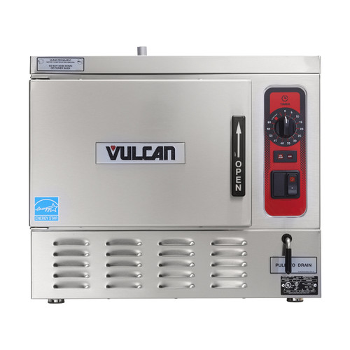 Vulcan C24EO3-1 3 Pan Countertop 80kw Electric Convection Steamer, C24EO Series (C24EO3-1)