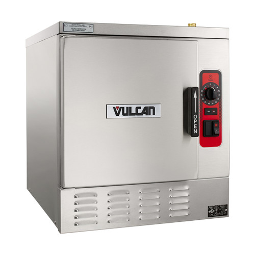 Vulcan C24EA5-1100 PLUS 5 Pan Electric Countertop Convection Steamer with Basic Controls - 208V, 15 kW