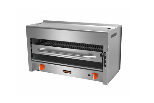 "Sierra SRS-36 36"" Infrared Salamander Broiler, 40K BTU, 2 Burners, Natural Gas"