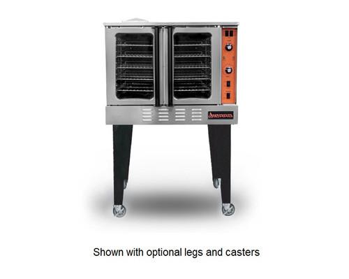 Sierra SRCO-1 Full Size Gas Convection Oven - Single Deck, Natural Gas, 54K BTU